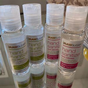 Raw Sugar Hand Sanitizer (all 4)
